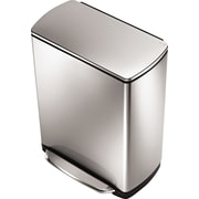 simplehuman® Widestep Rectangular Step Trash Can, 13 gal.