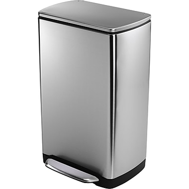 simplehuman Widestep Rectangular Step Trash Can, 10 gal.