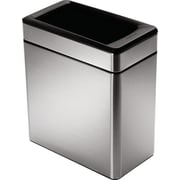 simplehuman® Profile Open Trash Can, 2.6 gal.