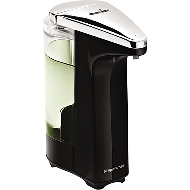 Simplehuman® Compact Sensor Pump Soap Dispenser, Black