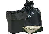 Webster® Earthsense® Commercial Recycled Trash Bags, Black, 16 gal.
