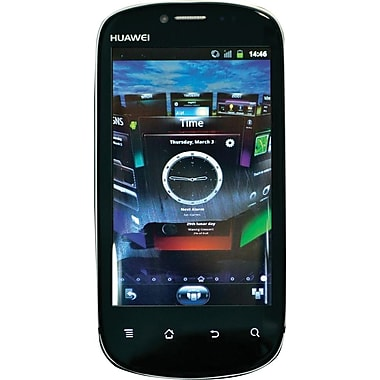 HUAWEI Vision U8850 GSM Unlocked Android Cell Phone, Black/Silver