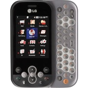 LG Neon GT365 GSM Unlocked QWERTY Cell Phone, Gray/Black