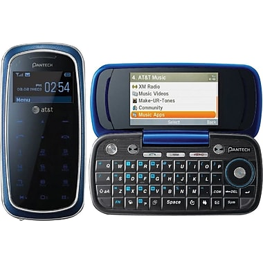 Pantech Impact P7000 GSM Unlocked Touch/QWERTY Cell Phone, Blue