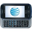 Pantech Laser P9050 GSM Unlocked Touch/QWERTY Cell Phone, Blue/Silver