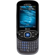 Samsung Strive A687 GSM Unlocked Slider Cell Phone, Black/Silver