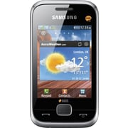 Samsung Champ DUOS C3312 GSM Unlocked Touchscreen Cell Phone, Silver