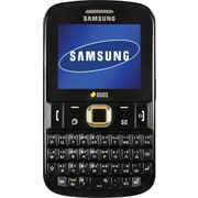 Samsung Ch@t 222 PLUS E2222 GSM Unlocked Dual SIM Cell Phone, Black