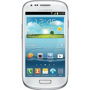 Samsung Galaxy S III Mini I8190 8GB GSM Unlocked Android Cell Phone, White