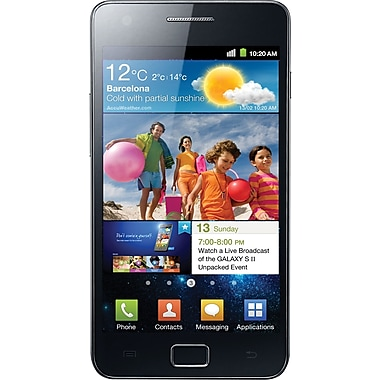 Samsung Galaxy S II I9100 GSM Unlocked Android Cell Phone, Black