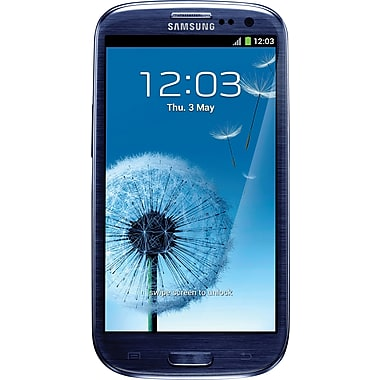 Samsung Galaxy S III 16GB I9300 GSM Unlocked Android Cell Phone, Blue