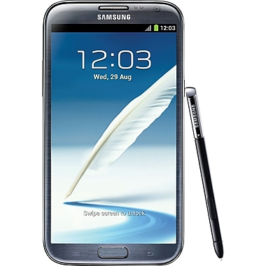 Samsung Galaxy Note II 16GB N7100 GSM Unlocked Android Cell Phone, Gray
