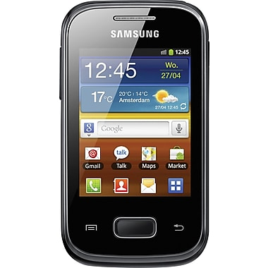 Samsung Galaxy Pocket S5300 GSM Unlocked Android Cell Phone, Black