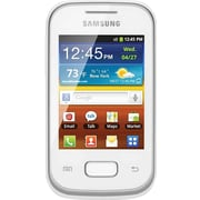 Samsung Galaxy Pocket S5300 GSM Unlocked Android Cell Phone, White