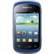 Samsung Galaxy Music DUOS S6012 GSM Unlocked Dual SIM Android Cell Phone, Blue