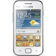 Samsung Galaxy Ace DUOS S6802 GSM Unlocked Dual SIM Android Cell Phone, White