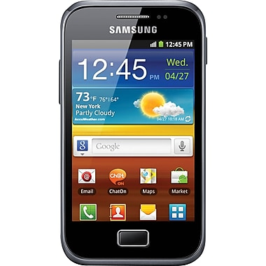 Samsung Galaxy Ace Plus S7500 GSM Unlocked Android Cell Phone, Dark Blue
