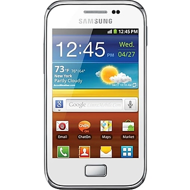 Samsung Galaxy Ace Plus S7500 GSM Unlocked Android Cell Phone, White