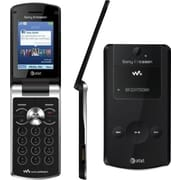 Sony Ericsson Walkman W518a GSM Unlocked Flip Cell Phone, Black