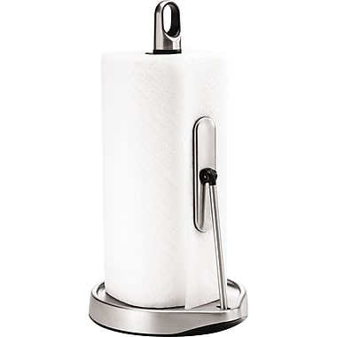 simplehuman Tension Paper Towel Holder, Stainless Steel