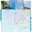 2014 Day-Timer® Monthly Coastlines® Refill, Size 4: 5 1/2in. x 8 1/2in.