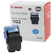 Canon CRG-102C Cyan Toner Cartridge (9644A006AA), High Yield
