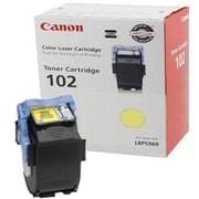Canon CRG-102Y Yellow Toner Cartridge (9642A006AA), High Yield