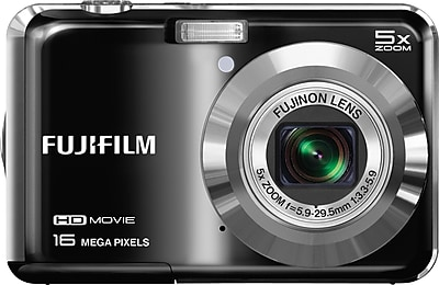Limited Offer Fuji FinePix AX660 16MP Point and Shoot Digital Camera, Black Before Special Offer Ends