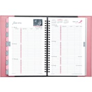 2014 Day-Timer® Pink Ribbon Reversible Weekly/Monthly Appointment Book, 5 1/2 x 8 1/2