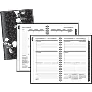 2014 Staples® Weekly/Monthly Hard Cover Planner, 4 7/8 x 8