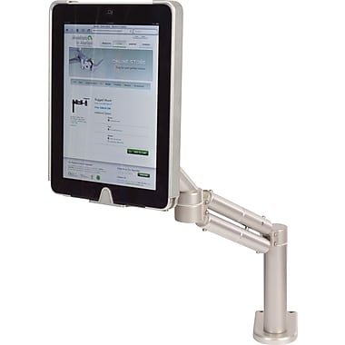Monitors-in-Motion Tablet Lift for iPad with Through-Desk Mount