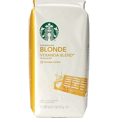 Starbucks® Blonde Veranda Blend Ground Coffee, Regular, 1 lb. Bag