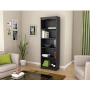 Sonax® Hawthorn 72 Wood Bookcase, Midnight Black