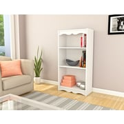 "Sonax® Hawthorn 48"" Wood Bookcase, Frost White"