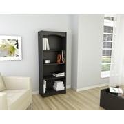 Sonax® Hawthorn 60 Wood Bookcase, Midnight Black