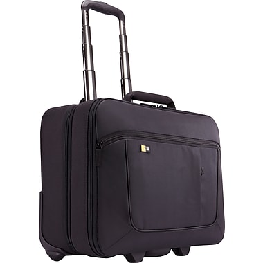 Case Logic 17.3in. Laptop and iPad® Roller, Black