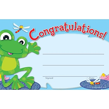 Carson-Dellosa FUNky Frogs Recognition Award