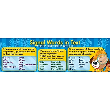 Carson-Dellosa Signal Words Bookmark