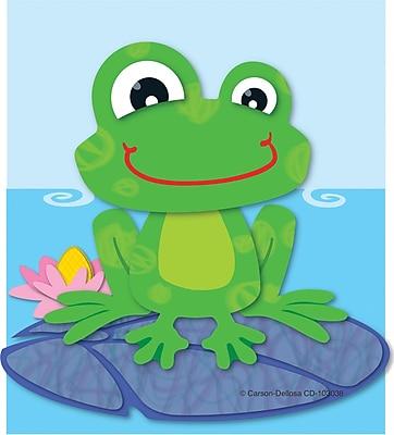 Carson Dellosa FUNky Frog Bookmark