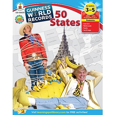 Carson-Dellosa Guinness World Records® 50 States Workbook