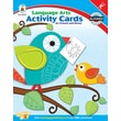 Carson-Dellosa Language Arts Activity Card for School and Home Workbook, Grade K
