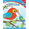 Carson-Dellosa Language Arts Activity Card for School and Home Workbook, Grade 1