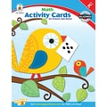 Carson-Dellosa Math Activity Card for School and Home Workbook, Grade K