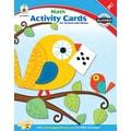 Carson-Dellosa Math Activity Card for School and Home Workbook, Grade K