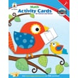 Carson-Dellosa Math Activity Card for School and Home Workbook, Grade 1