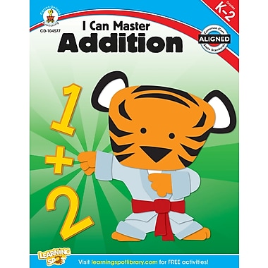 Carson-Dellosa I Can Master Addition Workbook