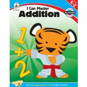 Carson-Dellosa Publishing 104577 I Can Master Addition Workbook