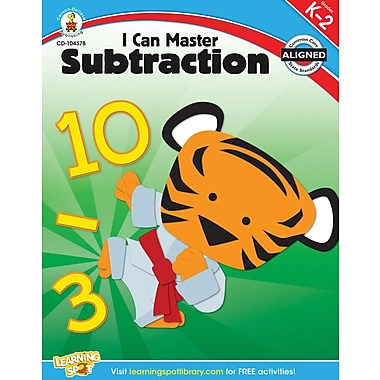 Carson-Dellosa Publishing 104578 I Can Master Subtraction Workbook