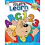 Carson-Dellosa The Big Let's Learn Book Workbook