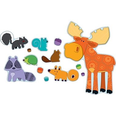 Carson-Dellosa Moose & Friends Bulletin Board Set